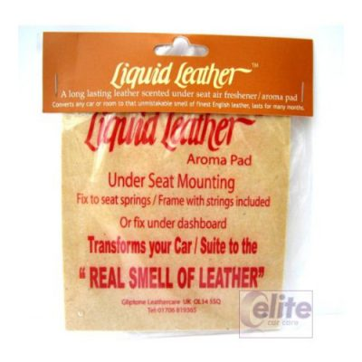 Gliptone Leather Scented Air Freshener - Large Aroma Pad