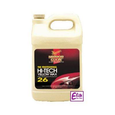 Meguiars #26 Hi-Tech Yellow Liquid Wax - US Gallon