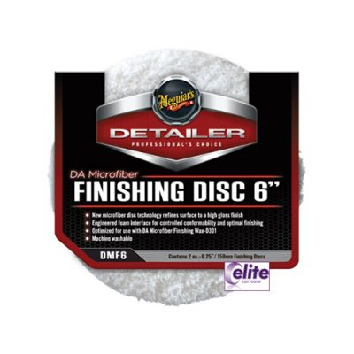 "Meguiar's DA Microfibre Finishing Disc 6"" - Pack of Two"
