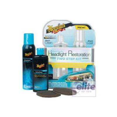 Meguiars Perfect Clarity Headlight Restoration Kit (2 stage)
