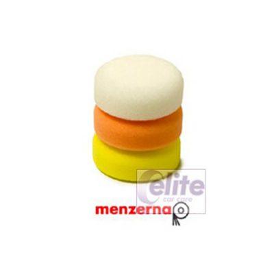 Menzerna 80mm Spot Pad White/Orange/Yellow Triple Pack