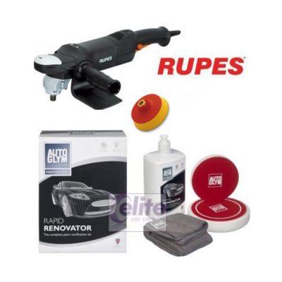 Rupes LH18ENS Rotary Polisher Autoglym Rapid Renovator Kit