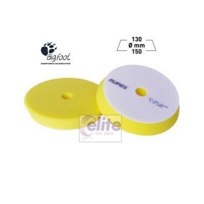 Rupes 150mm Yellow Fine Foam Medium Polishing Pad