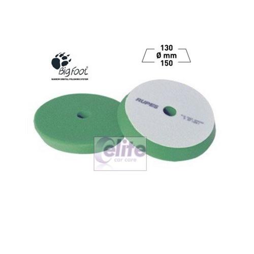 Rupes 150mm Green Medium Foam Intermediate Polishing Pad