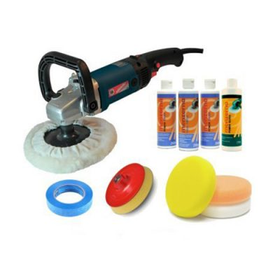 Silverline Menzerna Professional Polishing Kit