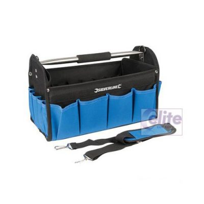 Silverline Blue Heavy Duty Detailing Kit Bag