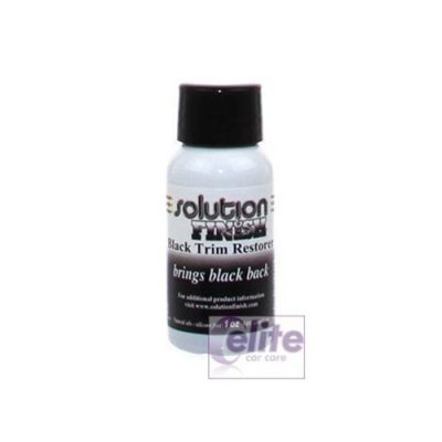 Solution Finish Trim Restorer Black 30ml 1oz