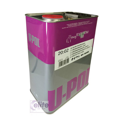 U-POL 20:02 Panel Wipe & Slow Degreaser Silicon Remover 5 Litre