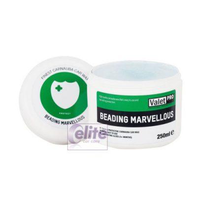 Valet PRO Beading Marvellous Carnauba Wax 250ml & Applicator