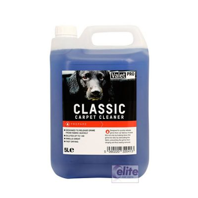 Valet Pro Classic Carpet Cleaner - 5 litre