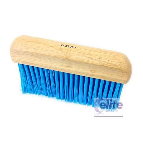 Valet Pro Long Stiff Bristled Upholstery Brush