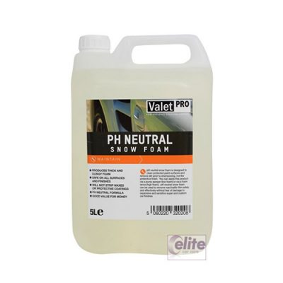 Valet Pro PH Neutral Snow Foam - 5 litres