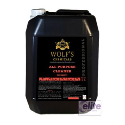 Wolf's Chemicals All Purpose Cleaner - The Multi - 5 Litre