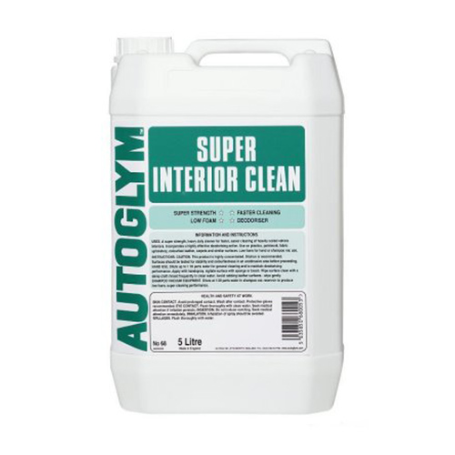 autoglym super interior cleaner 5 litre elite car care