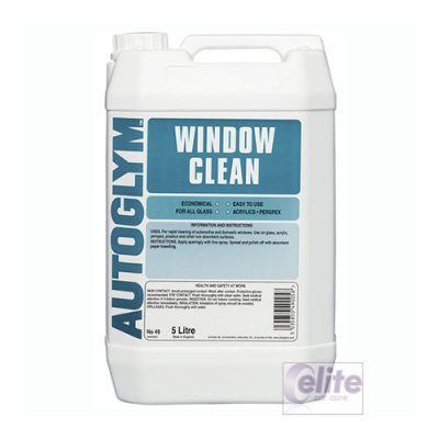 Autoglym Window Clean Glass Cleaner - 5 litres