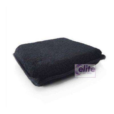 Elite Black Microfibre Applicator Pad