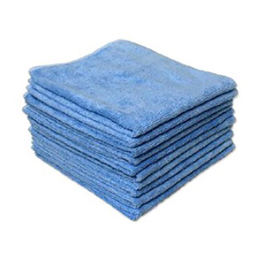 "Elite Ultra Plush Blue Microfibre Towels 16""x26"" Pack of 12"