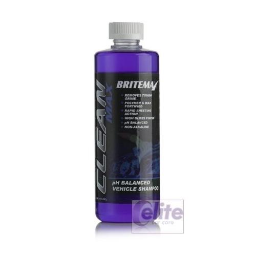 Britemax Clean Max - pH Balanced Car Shampoo 473ml - 16oz