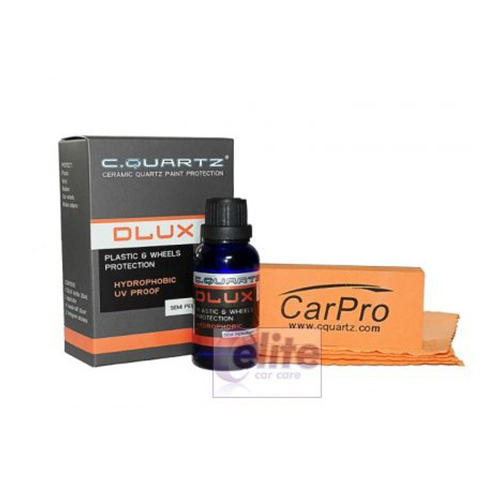CarPro Cquartz DLUX 30ml Kit - For Wheels and Plastic Trim