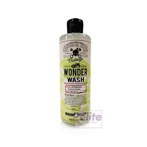 chemical guys vintage series wonder wash shampoo 16oz. Black Bedroom Furniture Sets. Home Design Ideas