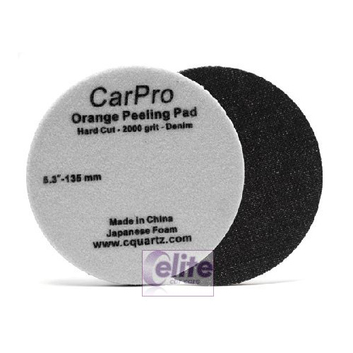 "CarPro Orange Peel Removal Pad Denim 2000 – 5.25"" 135mm"