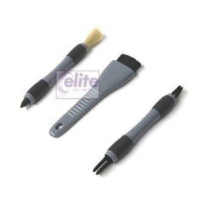 Elite Ultimate Dash and Crevice Detail Brush Set