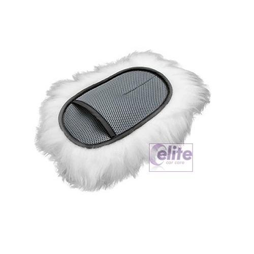 Elite Merino Swirl-Free Soft Wool Wash Mitt