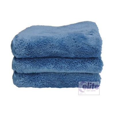 Eurow Shagpile Double Density Towels (pack of 3)