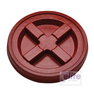 Gamma Seal Bucket Lid - Red