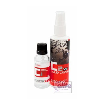 Gtechniq C1 Crystal Lacquer 30ml + C2v3 Liquid Crystal 100ml