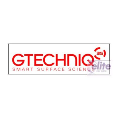 Gtechniq 243x70mm Polypropylene Sticker