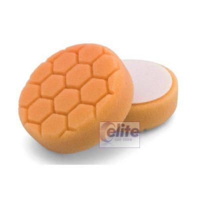 Elite HEXSHINE Orange Medium-Heavy Cutting Spot Pad 4 inch