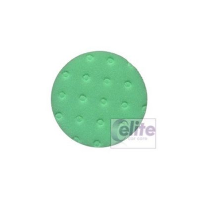 "Lake Country CCS Green 4"" Heavy Polishing Spot Pad"