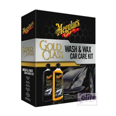 Meguiars Gold Class Wash and Wax Car Care Kit
