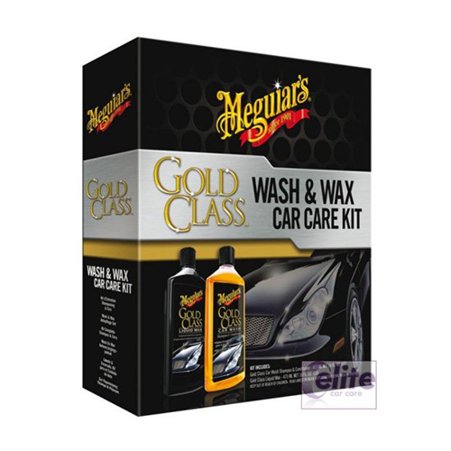 Platinum Car Wash >> Meguiars Gold Class Wash and Wax Car Care Kit - Elite Car Care