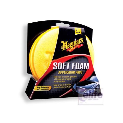 Meguiars Soft Foam Applicator Pads (Twin Pack)