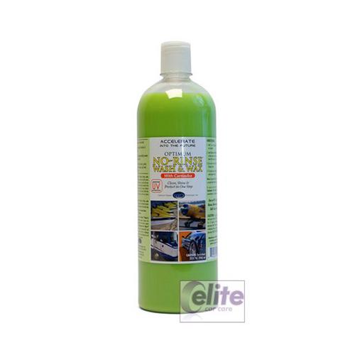 Optimum No Rinse >> Optimum No Rinse Wash And Wax 32oz