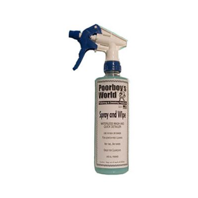 Poorboy's Spray & Wipe 16oz