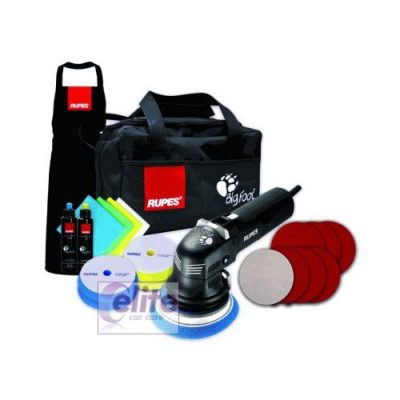 Rupes LHR12E Duetto Random Orbital Polisher Deluxe Kit