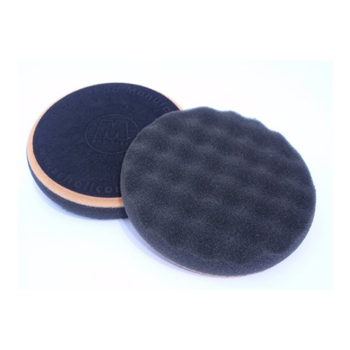 Scholl Concepts Black Softouch Waffle Finishing Spot Pad 85mm