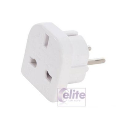 Elite UK to EU Plug Adaptor