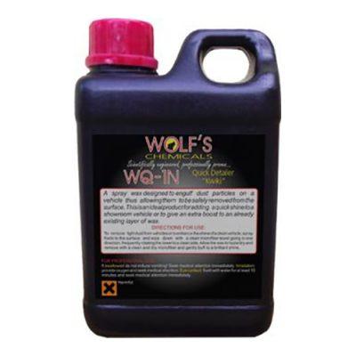 Wolf's Chemicals WQ-1N Carnauba Quick Detailer - 1 Litre